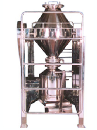 Double cone blender mixer for pharmacutical